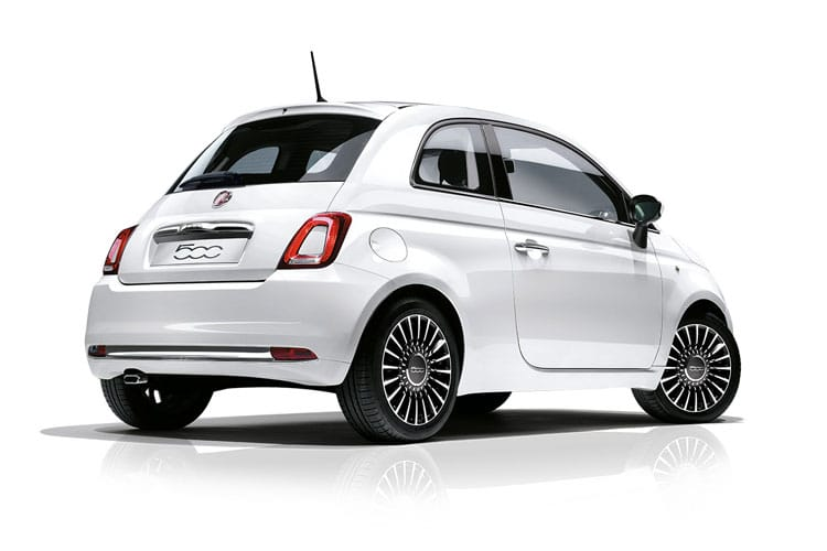 Fiat 500 Hatch 3Dr 1.0 MHEV 70PS Launch Edition 3Dr Manual [Start Stop] back view