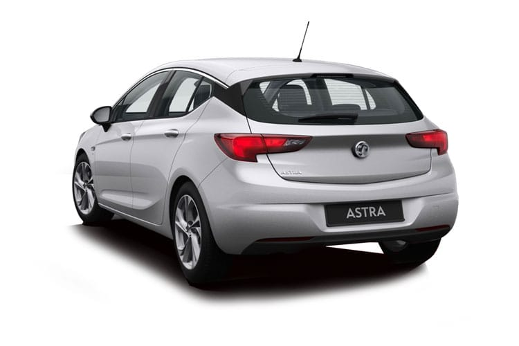 Vauxhall Astra Hatch 5Dr 1.2 Turbo 145PS Elite Nav 5Dr Manual [Start Stop] back view