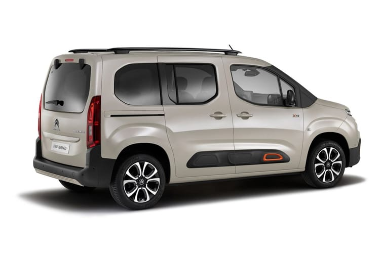 Citroen Berlingo XL MPV 1.5 BlueHDi 130PS Flair 5Dr EAT8 [Start Stop] back view