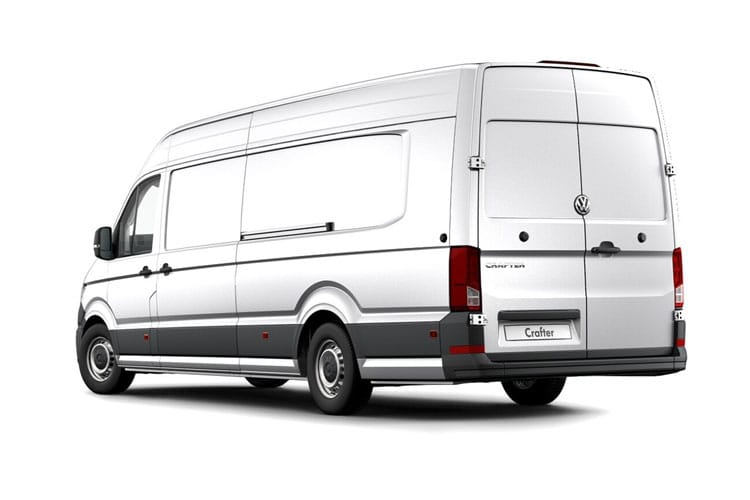 Volkswagen Crafter CR35LWB FWD 2.0 TDI FWD 177PS Trendline Business Van Extra High Roof Manual [Start Stop] back view