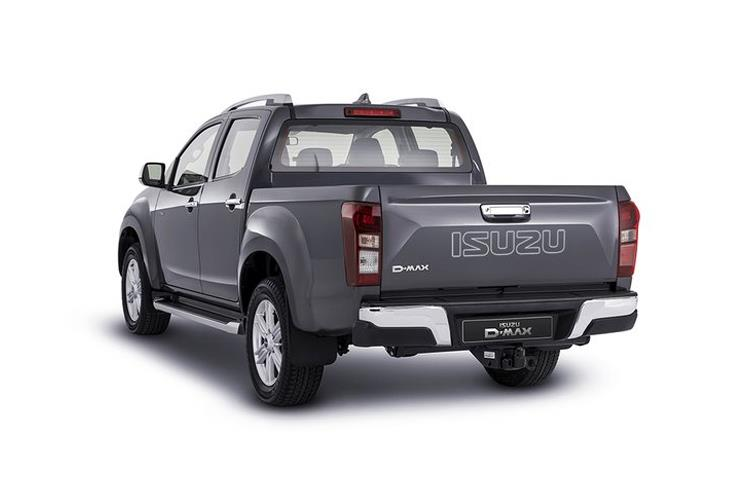 Isuzu D-MAX Pick Up Double Cab 4wd 1.9 TD 4WD 164PS DL40 Pickup Double Cab Manual [Start Stop] back view