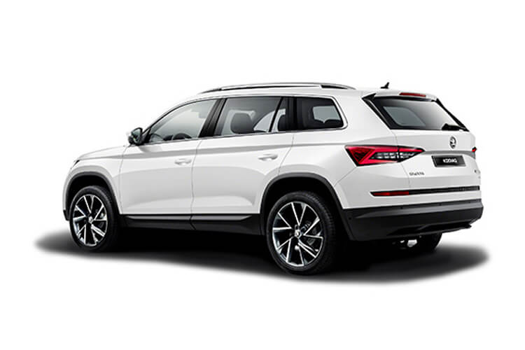 Skoda Kodiaq SUV 4wd 2.0 TDi 200PS SE L 5Dr DSG [Start Stop] [7Seat] back view