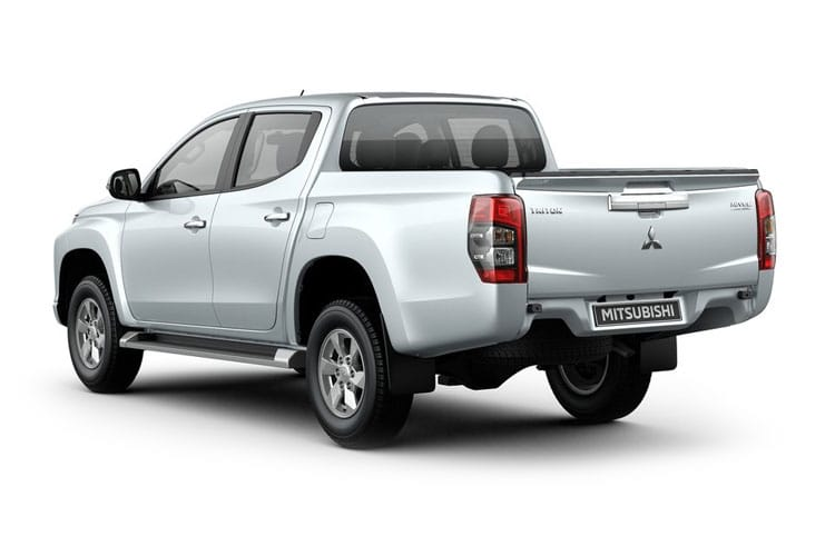Mitsubishi L200 Pick Up Double Cab 4wd 2.2 DI-D 4WD 150PS Warrior Pickup Double Cab Manual [Start Stop] back view