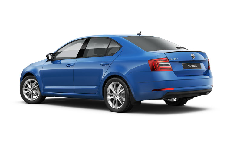 Skoda Octavia Hatch 5Dr 1.0 TSi e-TEC MHEV 110PS SE 5Dr DSG [Start Stop] back view