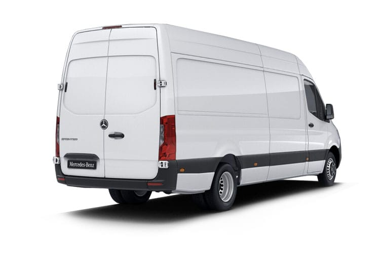 Mercedes-Benz Sprinter 314 L2 3.5t FWD 2.1 CDi FWD 143PS  Van High Roof Manual [Start Stop] back view
