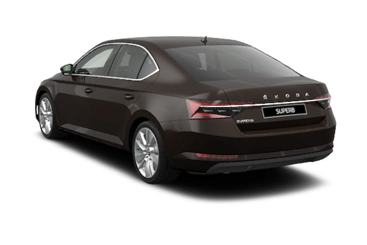 Skoda Superb Hatch 5Dr 1.4 TSI iV PiH 13kWh 218PS Laurin & Klement 5Dr DSG [Start Stop] back view