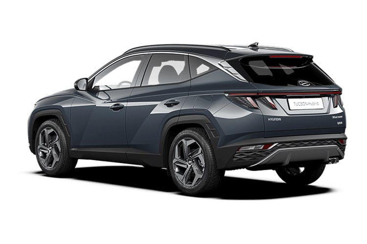 Hyundai Tucson SUV 1.6 T-GDi 177PS Premium 5Dr DCT [Start Stop] back view