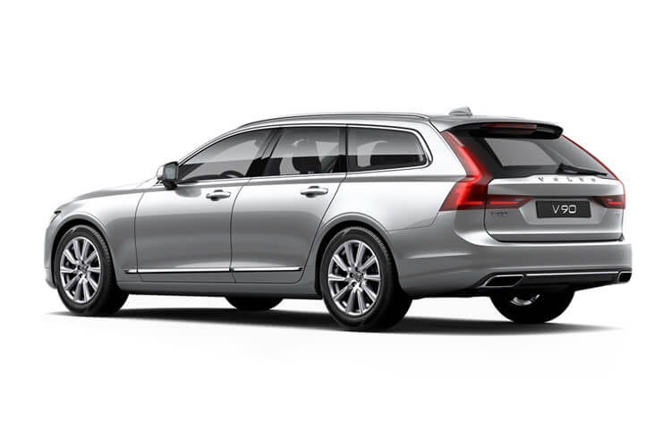 Volvo V90 Estate 2.0 B5 MHEV 250PS Inscription 5Dr Auto [Start Stop] back view