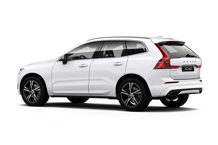 Volvo XC60 SUV 2.0 B5 MHEV 250PS Inscription Pro 5Dr Auto [Start Stop] back view