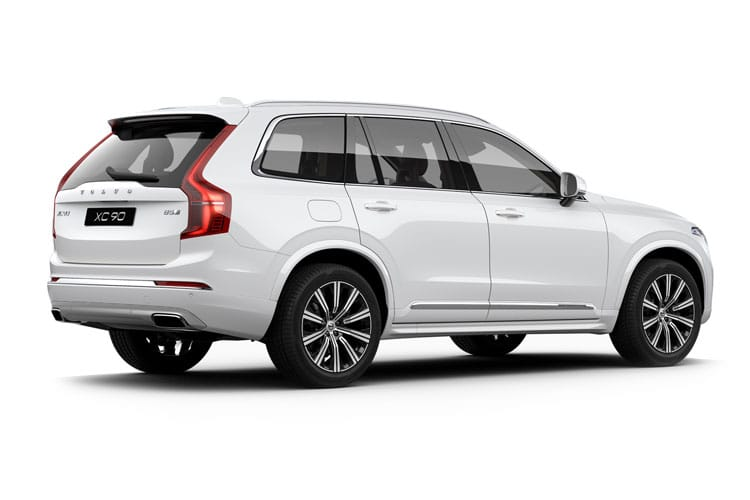 Volvo XC90 SUV 2.0 B6 MHEV 300PS R DESIGN Pro 5Dr Auto [Start Stop] back view