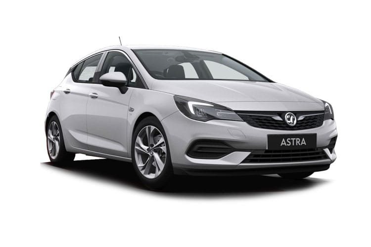 Vauxhall Astra Hatch 5Dr 1.2 Turbo 145PS Elite Nav 5Dr Manual [Start Stop] front view