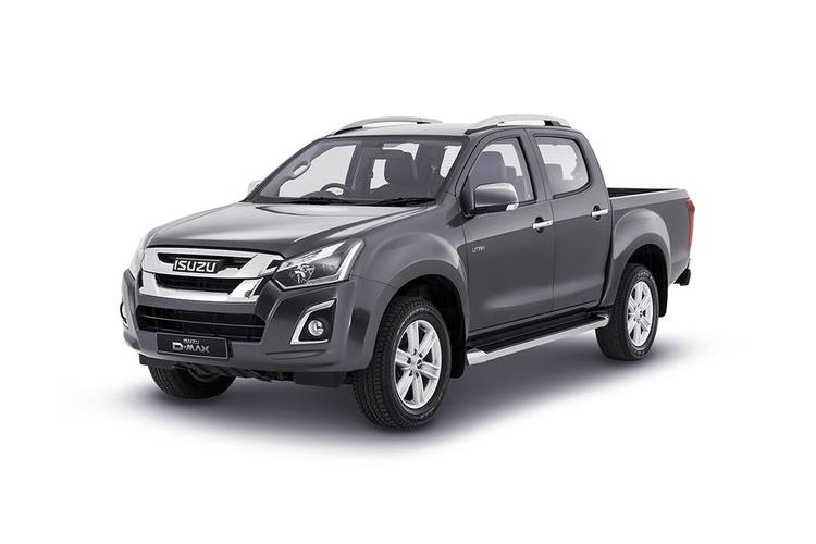 Isuzu D-MAX Pick Up Double Cab 4wd 1.9 TD 4WD 164PS DL40 Pickup Double Cab Manual [Start Stop] front view