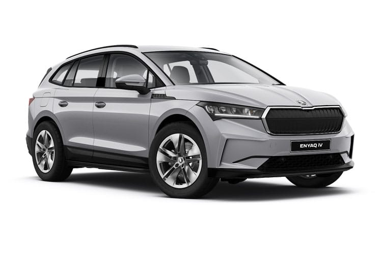Skoda Enyaq iV 80 SUV Elec 82kWh 150KW 204PS SportLine 5Dr Auto front view