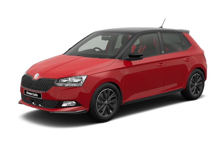 Skoda Fabia Hatch 5Dr 1.0 TSi 95PS Monte Carlo 5Dr Manual [Start Stop] front view