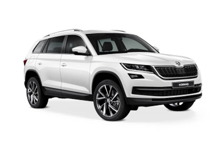 Skoda Kodiaq SUV 4wd 2.0 TDi 200PS Laurin & Klement 5Dr DSG [Start Stop] [7Seat] front view