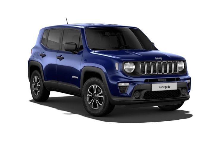 Jeep Renegade SUV 1.3 GSE T4 150PS Night Eagle 5Dr DDCT [Start Stop] front view