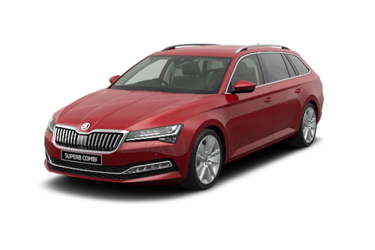 Skoda Superb Estate 2.0 TDi 150PS SE 5Dr DSG [Start Stop] front view