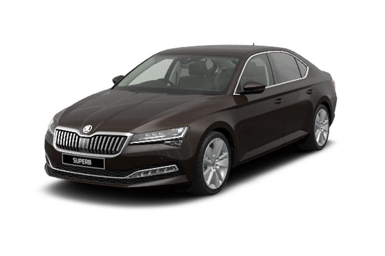 Skoda Superb Hatch 5Dr 2.0 TSi 190PS SportLine Plus 5Dr DSG [Start Stop] front view