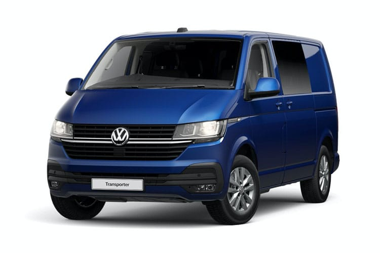 Volkswagen Transporter Kombi T32LWB 4Motion 2.0 TDI 4WD 150PS Highline Crew Van High Roof Manual [Start Stop] front view