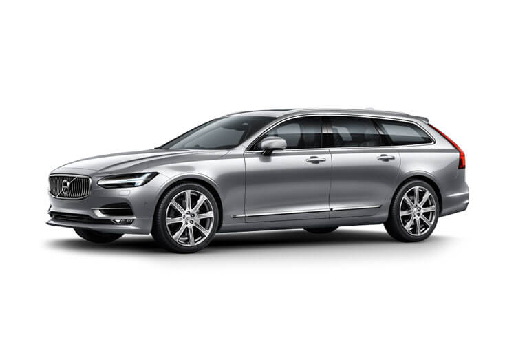 Volvo V90 Estate 2.0 B5 MHEV 250PS Inscription 5Dr Auto [Start Stop] front view