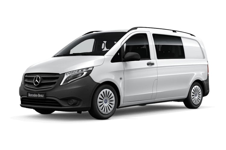 Mercedes-Benz Vito 114 L3 FWD 1.7 CDi FWD 136PS Progressive Crew Van Manual [Start Stop] [PLUS] front view