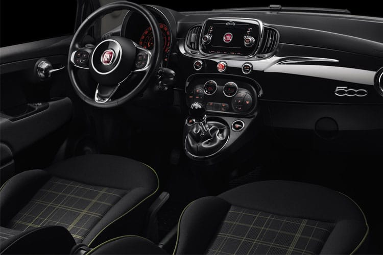Fiat 500 Hatch 3Dr 1.0 MHEV 70PS Launch Edition 3Dr Manual [Start Stop] inside view