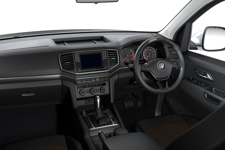 Volkswagen Amarok Pick Up DCab 4Motion 3.0 TDI V6 4WD 258PS Aventura Black Edition Pickup Double Cab Auto [Start Stop] inside view