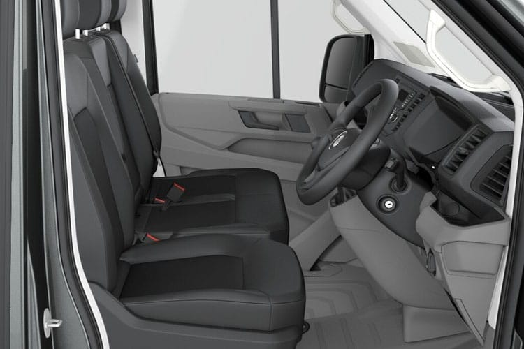 Volkswagen Crafter CR35MWB FWD 2.0 TDI FWD 140PS Startline Business Chassis Cab Manual [Start Stop] inside view