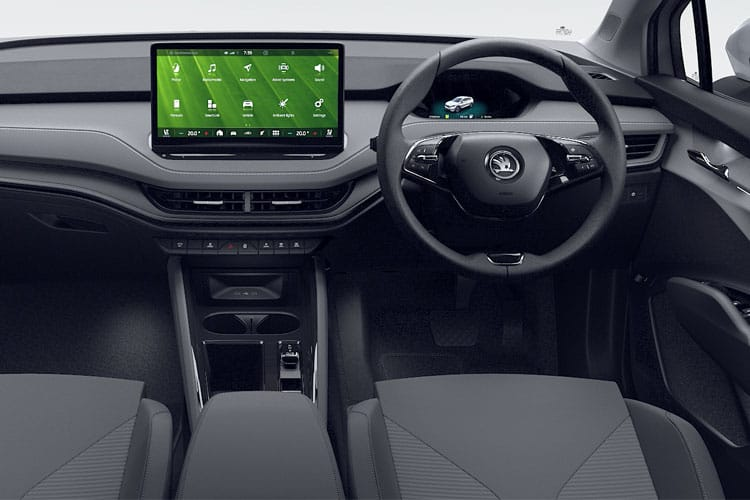 Skoda Enyaq iV 80 SUV Elec 82kWh 150KW 204PS  5Dr Auto [Lodge] inside view