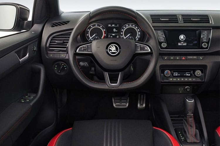 Skoda Fabia Hatch 5Dr 1.0 TSi 95PS Monte Carlo 5Dr Manual [Start Stop] inside view