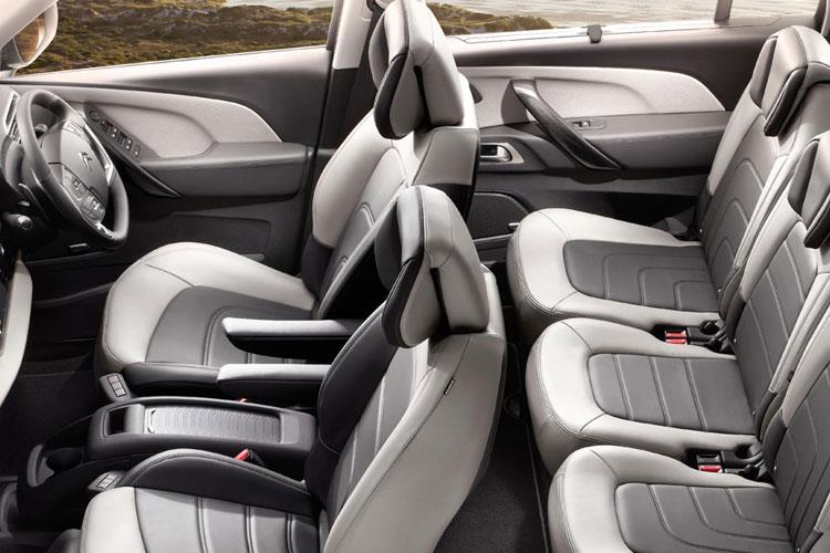 Citroen C4 SpaceTourer Grand C4 SpaceTourer MPV 1.2 PureTech 130PS Sense 5Dr EAT8 [Start Stop] inside view