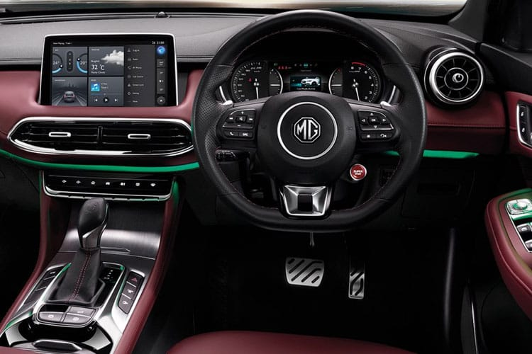 MG Motor UK MG HS SUV 1.5 T-GDI PiH 16.6 kWh 258PS Exclusive 5Dr Auto [Start Stop] inside view