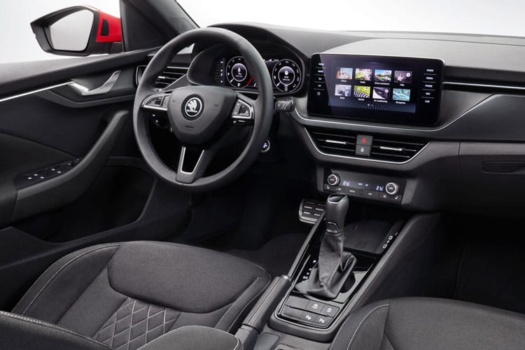 Skoda Kamiq SUV 1.0 TSi 110PS SE L 5Dr DSG [Start Stop] inside view