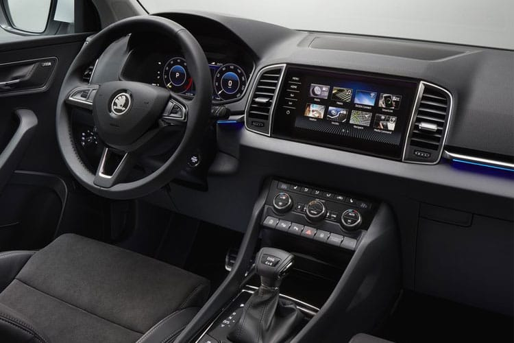 Skoda Karoq SUV 1.0 TSi 110PS SE Drive 5Dr Manual [Start Stop] inside view