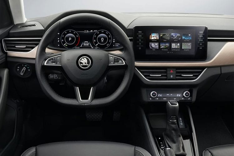 Skoda Scala Hatch 5Dr 1.0 TSi 110PS Monte Carlo 5Dr DSG [Start Stop] inside view