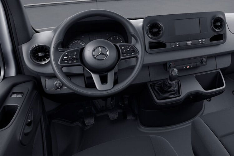 Mercedes-Benz Sprinter 314 L2 3.5t 2.1 CDi RWD 143PS  Van High Roof G-Tronic+ [Start Stop] inside view