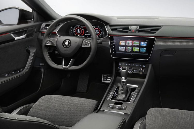 Skoda Superb Estate 2.0 TDi 150PS SE 5Dr DSG [Start Stop] inside view