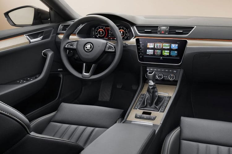 Skoda Superb Hatch 5Dr 2.0 TSi 190PS SportLine Plus 5Dr DSG [Start Stop] inside view