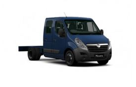 Vauxhall Movano HGV Chassis Cab R45DRW L3 2.3 CDTi BiTurbo DRW 135PS  Chassis Double Cab Manual