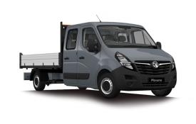 Vauxhall Movano Dropside Double Cab F35 L3 2.3 CDTi BiTurbo FWD 150PS  Dropside Double Cab Manual [Start Stop]