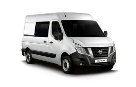Nissan NV400 Crew Van L2 35 FWD 2.3 dCi FWD 150PS Acenta Crew Van Medium Roof Auto [Start Stop]